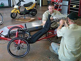 Electric Bicycle Repair